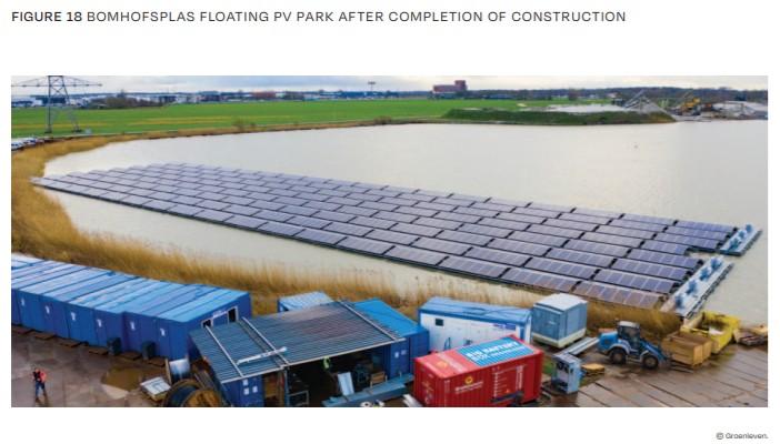 Figure 18 Bomhofsplas Floating Pv Park After Completion Of Construction